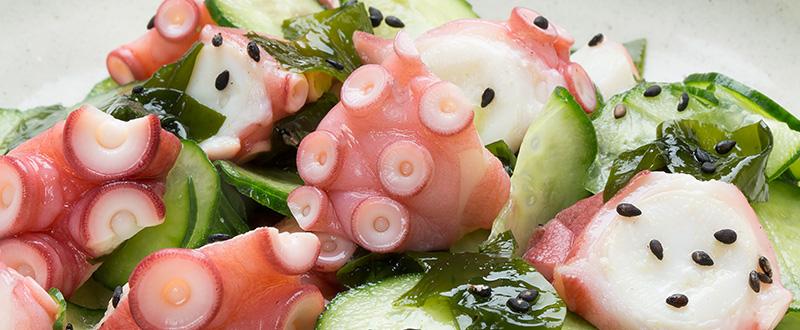 蛸酢料理写真