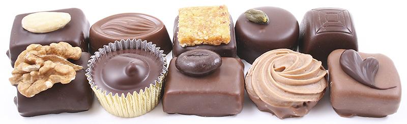バレンタインチョコレート陳列イメージ